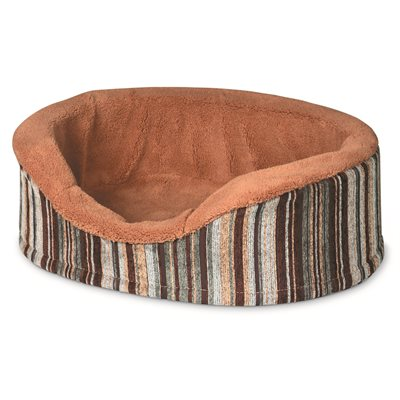 """Petmate Aspen Antimicrobial Deluxe 18"""" Oval"""
