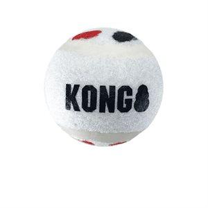 KONG Balles « Signature » Sport Petites Paquet de 3