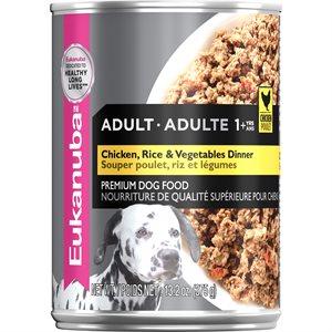 EUKANUBA Adult Chicken with Rice & Vegetables Dinner Dog 12 / 13.2oz