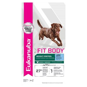 EUKANUBA Fit Body Weight Control Large Breed Dog 30LBS