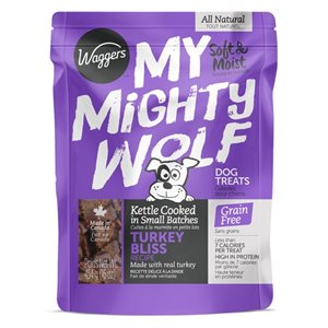 Waggers My Mighty Wolf Turkey 454g