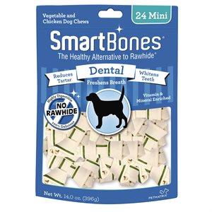 Spectrum Smart Bones Dental Mini 24 Pack