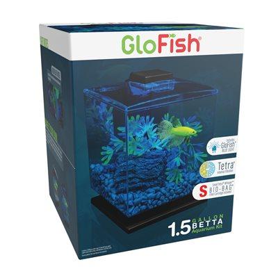 Spectrum Brands GloFish Aquarium Kit 1.5 Gallons