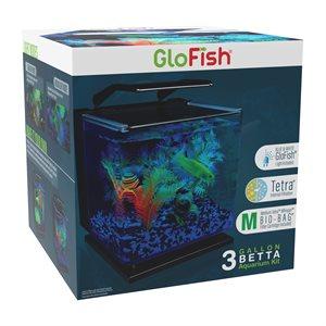 Spectrum Brands Ensemble d'Aquarium « GloFish » Betta 3 Gallons