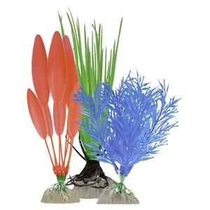 Spectrum Brands Plantes «GloFish » Emballage Varié Bleu Rouge Vert 3 MCX