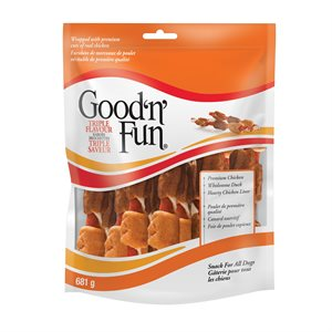 Spectrum Brands Good 'n' Fun Brochettes Triple Saveur 681 G
