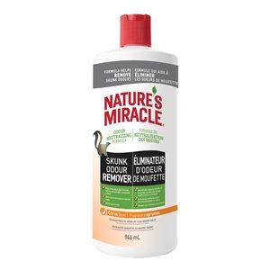 Spectrum Brands Nature's Miracle Nettoyant Enlève-Odeurs des Mouffettes Agrumes 32oz