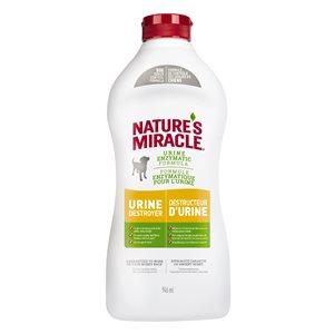 Spectrum Nature's Miracle Destructeur d'Urine Bouteille Compressible 32oz
