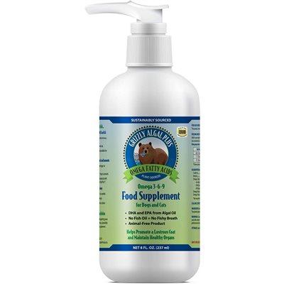 Grizzly Algal Plus Omega 3-6-9 Liquid Supplement 8oz