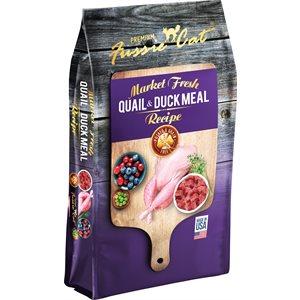 Fussie Cat Grain Free Quail & Duck Meal Formula 4LB