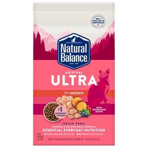 Natural Balance Cat Original Ultra Grain Free Senior Chicken & Salmon 6 lb