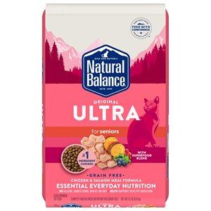 Natural Balance Cat Original Ultra Grain Free Senior Chicken & Salmon 15 lb