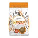 sWheat Scoop Litière « Premium+ » Agglomérante pour Chats à Base de Blé 25LB