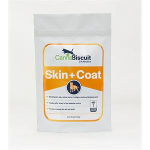 Cannabiscuit Skin & Coat Nutraceutical Supplement with Egg Shell Membrane 224g