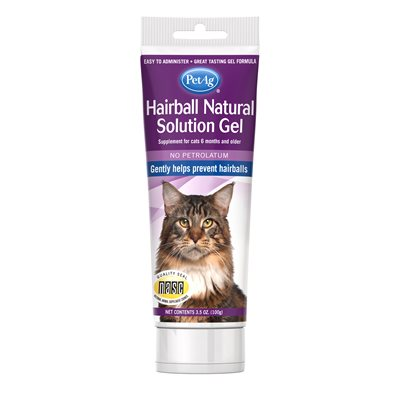 PetAg Hairball Natural Solution Gel Cats 3.5oz