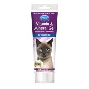 PetAg Vitamin & Mineral Gel for Cats 3.5oz