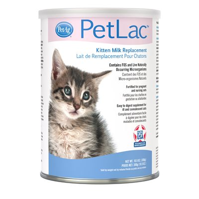 PetAg PetLac® Milk Replacer Powder for Kittens 10.5oz