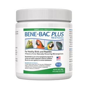 PetAg Bird & Reptile Bene-Bac™ Plus Probiotic Powder 10oz
