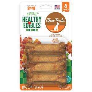 Nylabone Healthy Edibles Bacon 8 Count Petite